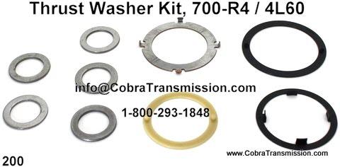 Cobra Transmission Parts 1-800-293-1848: 700R4, 4L60