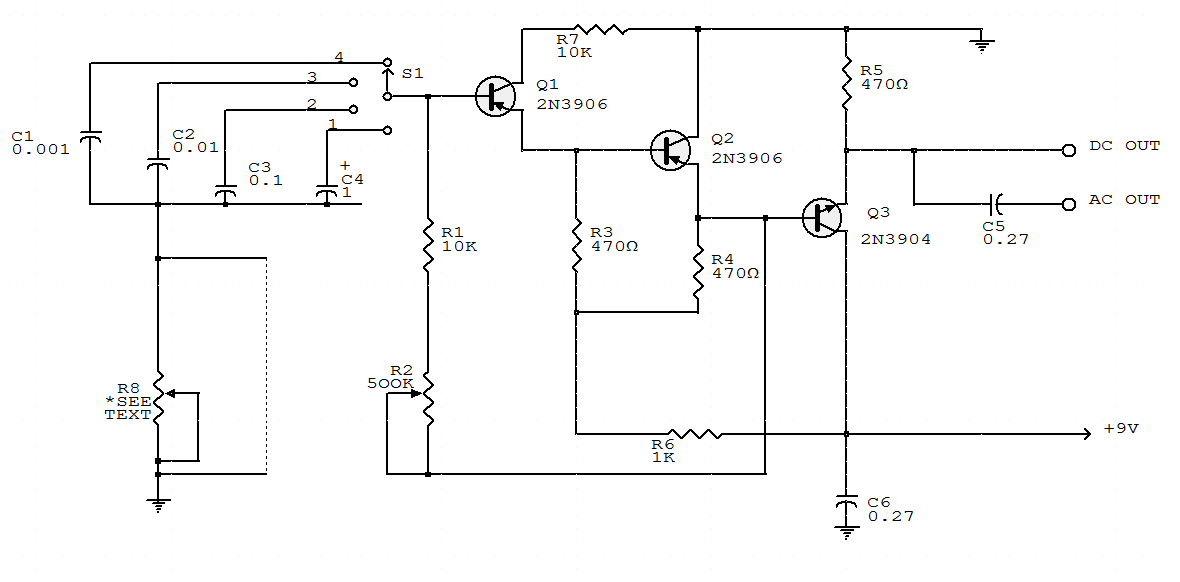 Voltagecontrolled Sinewave Oscillator For Up To 50 Khz Circuit