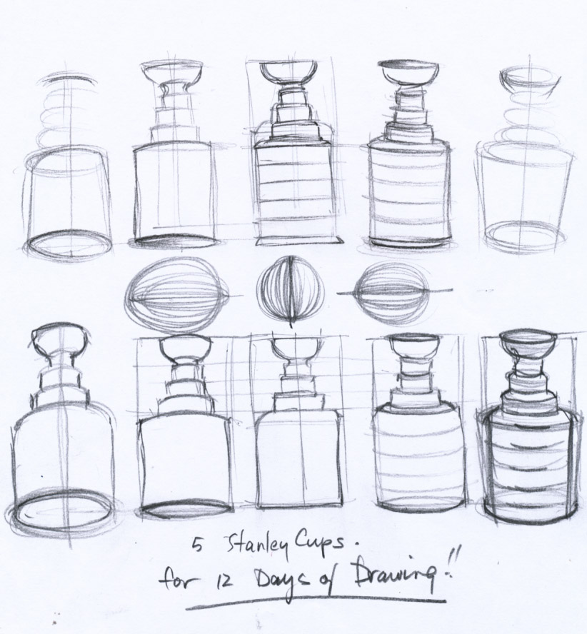 Day 5 Drawing Stanley Cups Word From Werner
