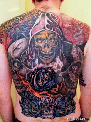 Tattoos For Mens And Tattoos For Girls Free Biomechanical Tattoo