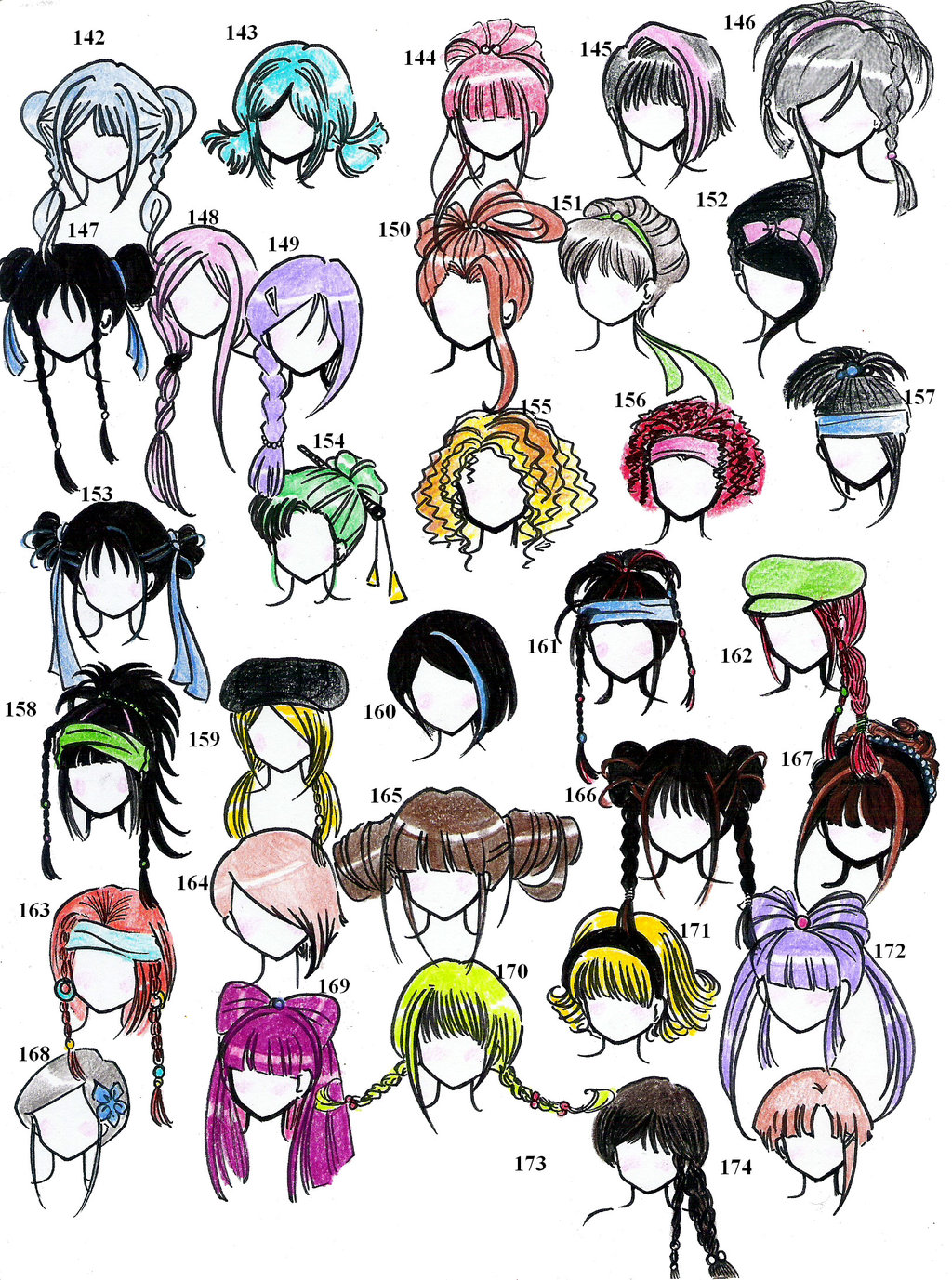 Drawing Easy Hairstyles How To Draw Hair For Boys Step By Step