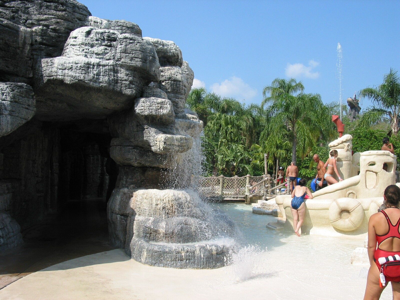 Orlando Water Parks Ketchakiddee Creek Cave