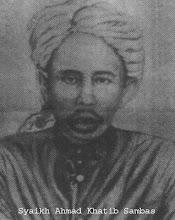 Hazrat Maulana Syaikh Ahmad Khatib Sambas Ibn Abdul Ghaffar