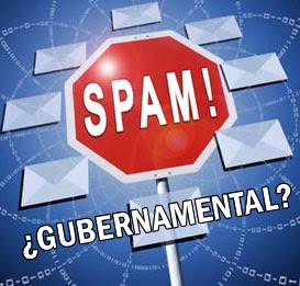 Spam gubernamental y otros