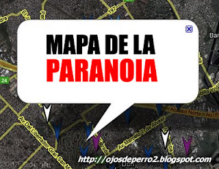 El mapa de la paranoia