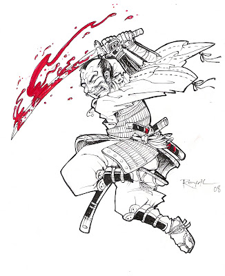Samurai Tattoo Drawings PART I