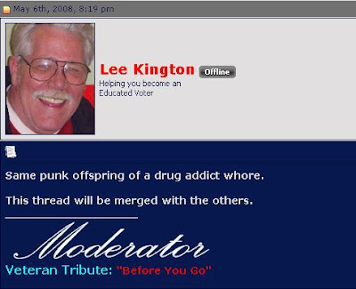 Lee kington asshole