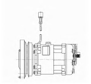 Learn Caterpillar Machines: How to Test A/C Compressor