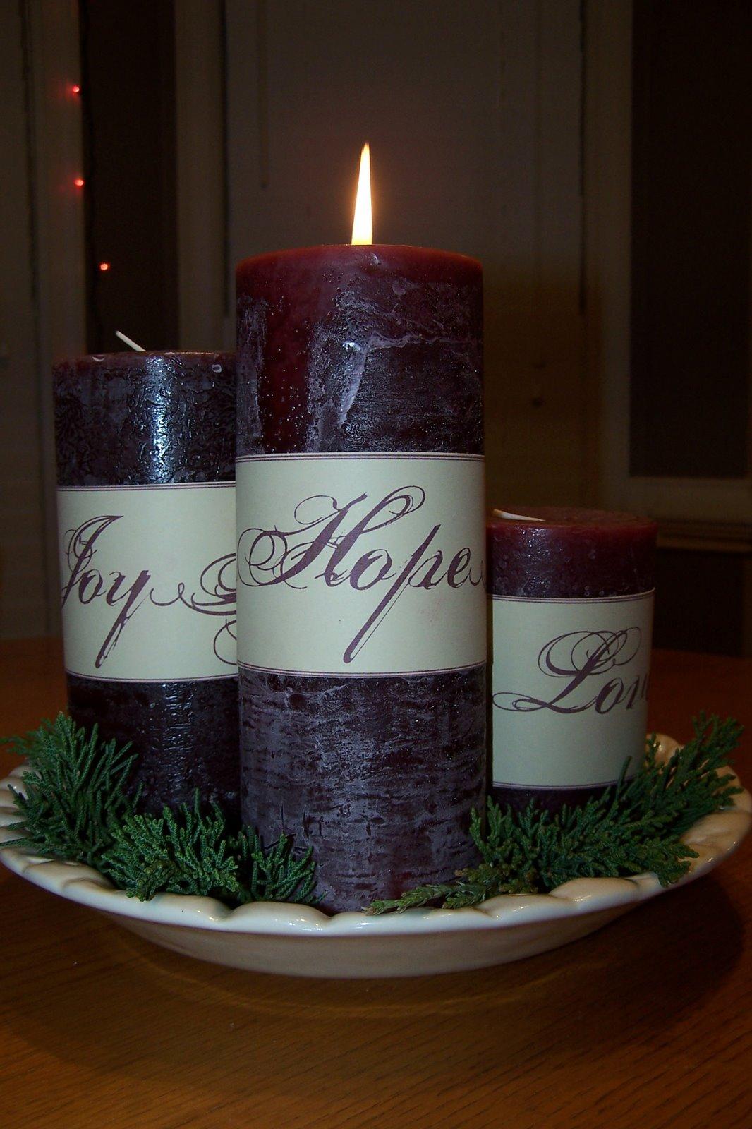 Groovie Mom: DIY Advent Wreath on Candle Globes Hobby Lobby id=59776