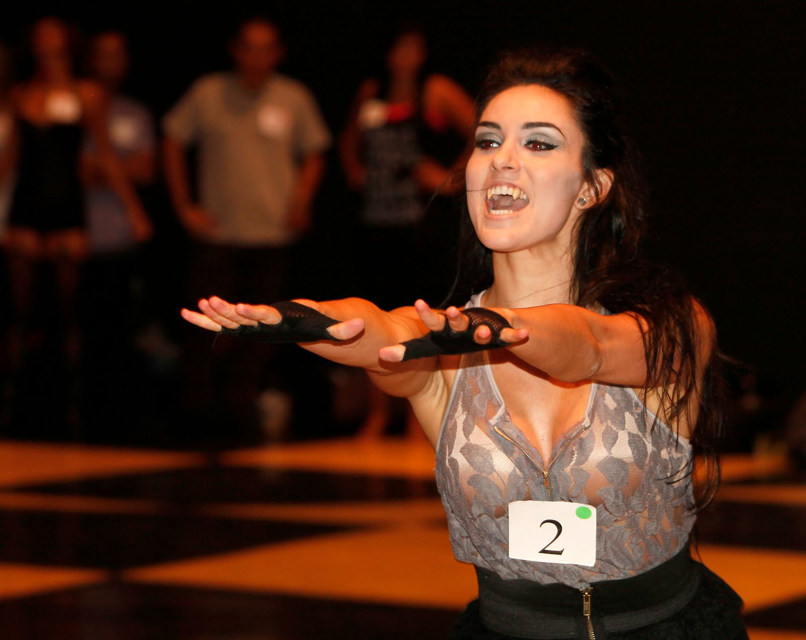 Tpa Quick Take Vampire Dancer Hopefuls Strut Their Stuff