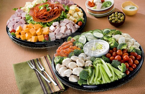 Cold Platter Ideas submited images.