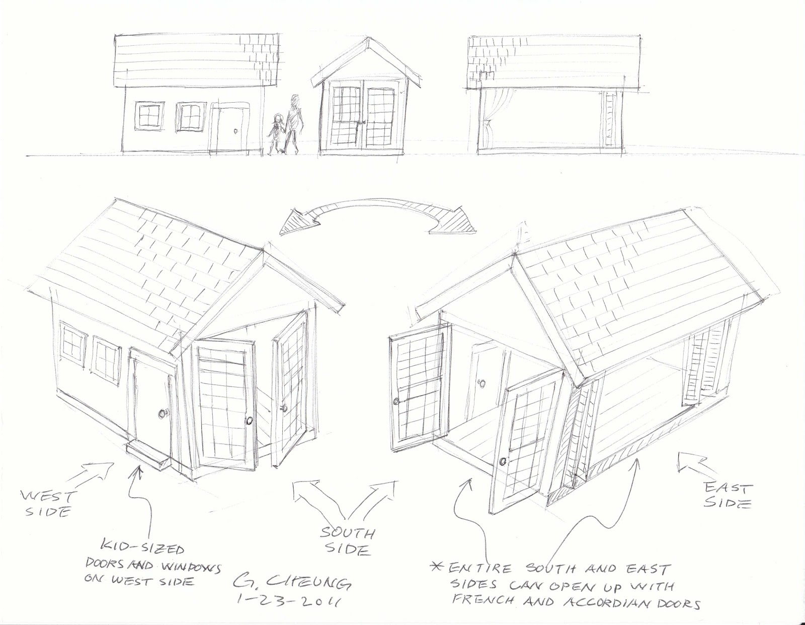 Gerald S Playhouse Project January