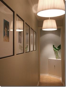 Maite y el dilema con el pasillo largo ministry of deco - Lamparas para pasillos casa ...
