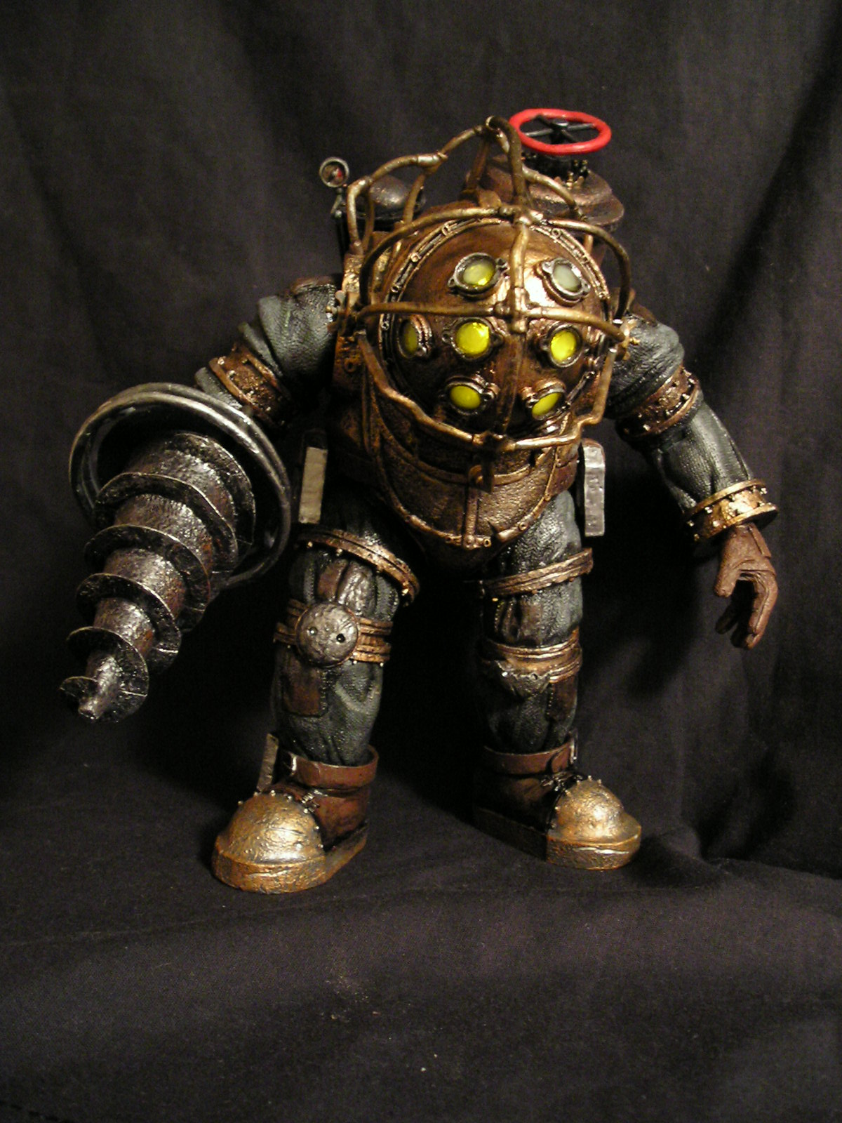 Big W Lights Bioshock 2 Big Daddy Custom W Lights Xbox Ps3 Marvel