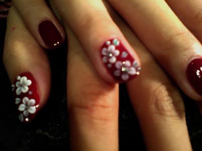 Adel's nails