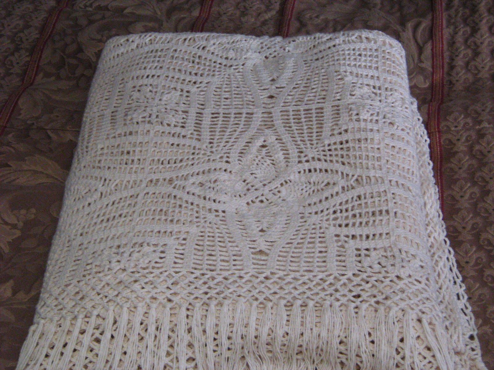 Muestras En Crochet Para Colchas Imagui Colchas Crochet