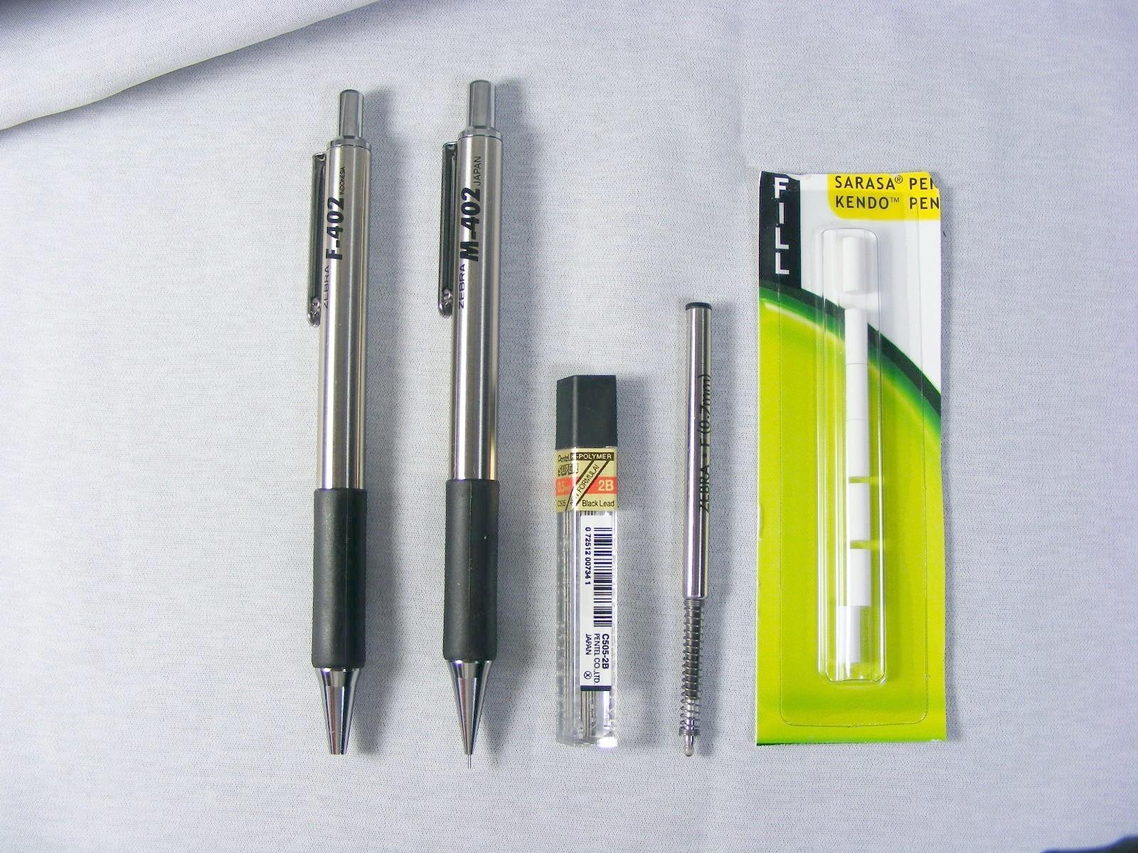 pens and pencils november 2009