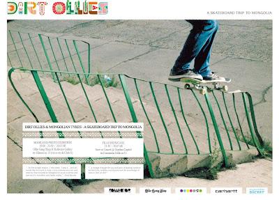 Dirt Ollies & Mongollian Tyers a Skateboard trip to Mongollia