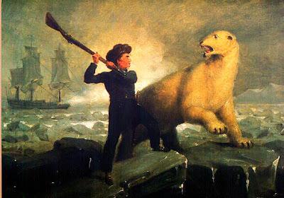 polar bear headed for extinction