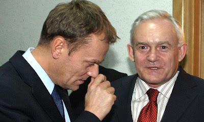 Leszek Miller i Donald Tusk