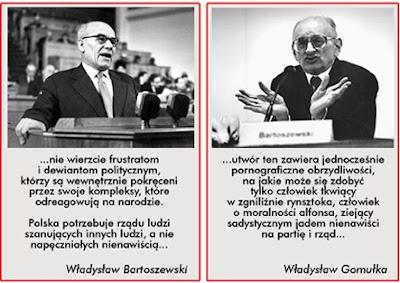 Gomułka i BArtoszewski