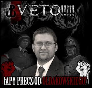 Łapy precz od Jana Ołdakowskiego