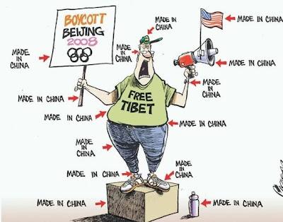 bojkot Chiny