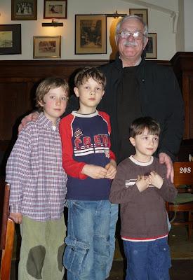 Tymek, Bartek, Marek i Janek