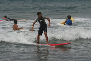 Learn to surf at Aloha Beach Camp in Los Angeles