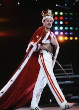 King Freddie at scene