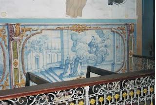 Azuleiijos na Igreja de Nossa Senhora do rosários dos pretos, pelourinho Salvador