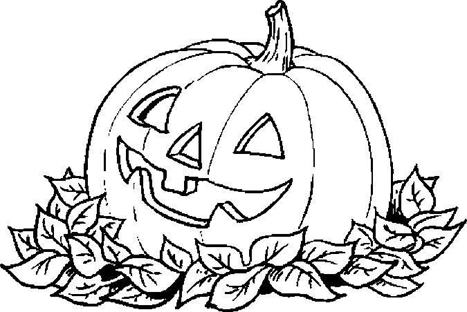 Dibujos Halloween Para Colorear Para Niñoscalabazas Cosas