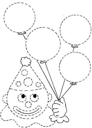 Cosas Para Niños Dibujos Infantiles Para Colorear Y Puntear