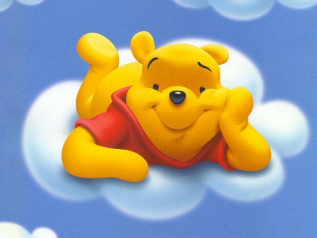 Imprime gratis fondo de pantalla infantil para niños de winnie the
