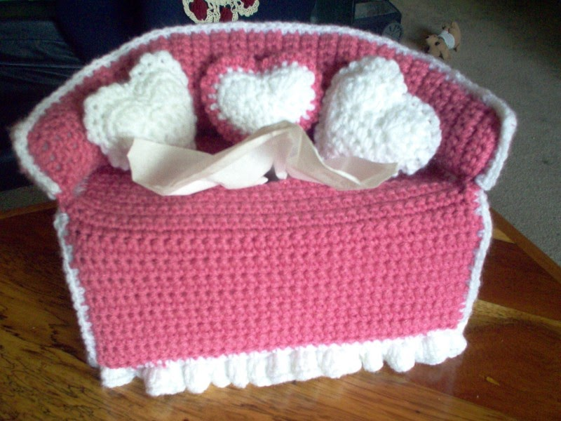 Sofa Tissue Box Cover Pattern