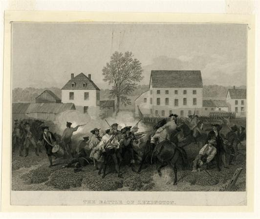 The American Revolution: Battle Of Lexington And Concord