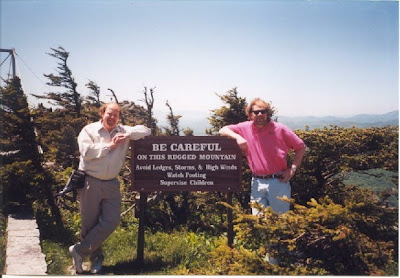 benning and Li'l Bro at Grandfather Mountain - 2000