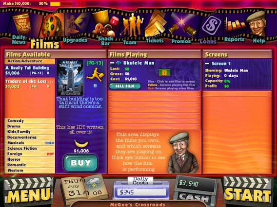 Cinema Tycoon 2: Movie Mania ScreenShot 01