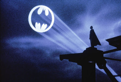 The batsignal and its intended recipient, sometime late last week