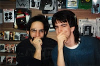 ''Little'' Steve and me, sometime in 1990/91