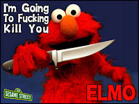 Elmo hits those difficult early-twenties experienced by nearly all child actors