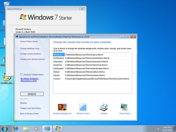 Dinara Cara Mengganti Wallpaper Windows 7 Starter Dengan