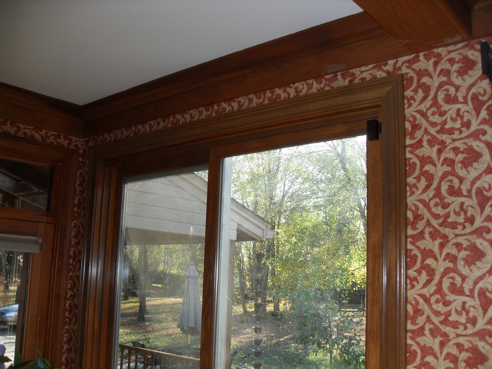 Louisville Blinds and Drapery: Patio Doors with Roller Shades