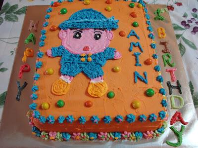 birthday cupcakes cartoon. Cartoon Birthday Cakes: Iman