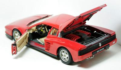 Bel Air Car >> 1:18 scale cars must go: 1984 Ferrari Testarossa 1:18 Burago BBurago