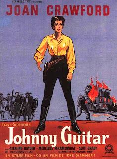Johnny guitar, joan crawford, western movie poster : MOVIE POSTERS: JOHNNY GUITAR (1954)