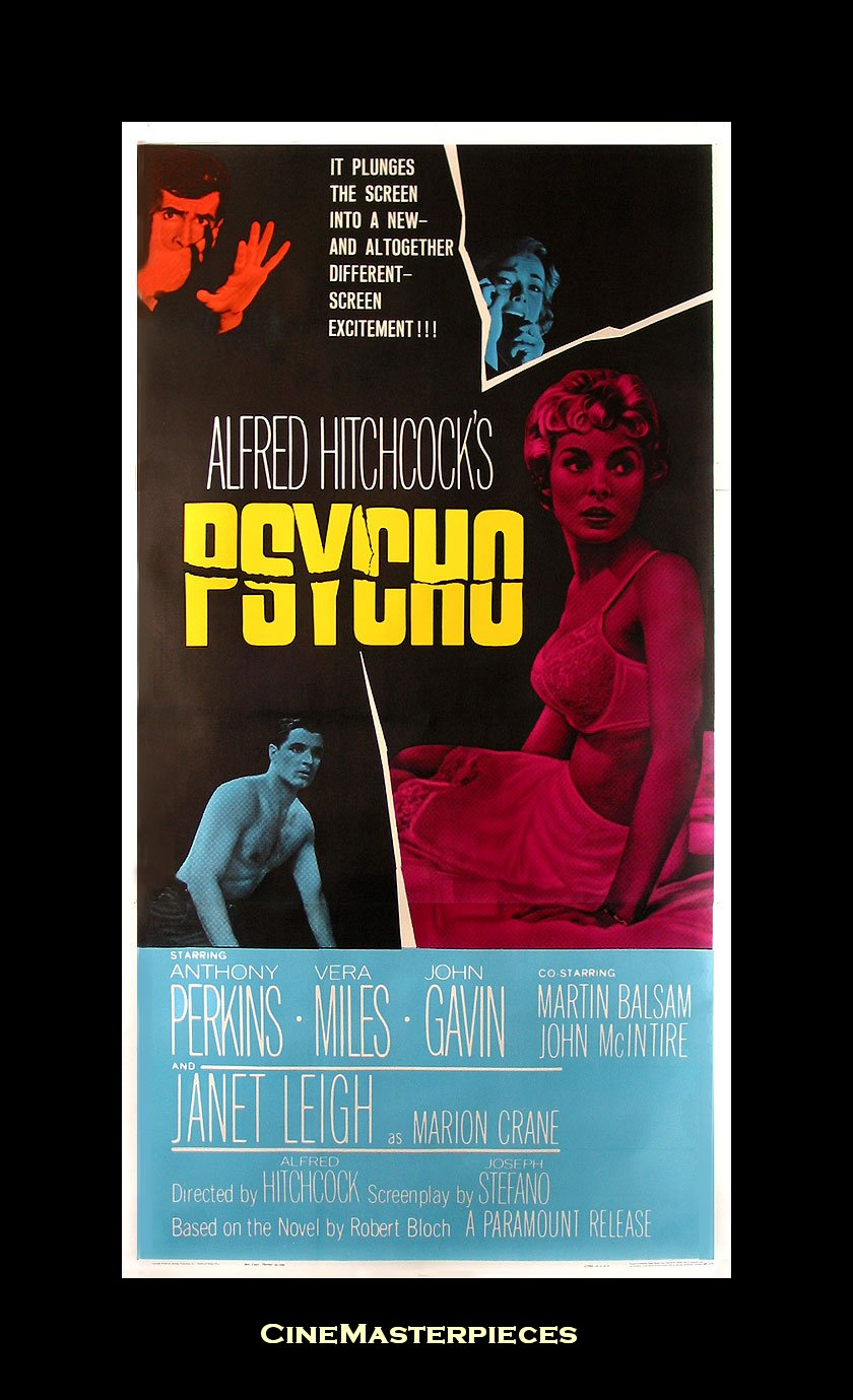 Movie Posters Psycho 1960