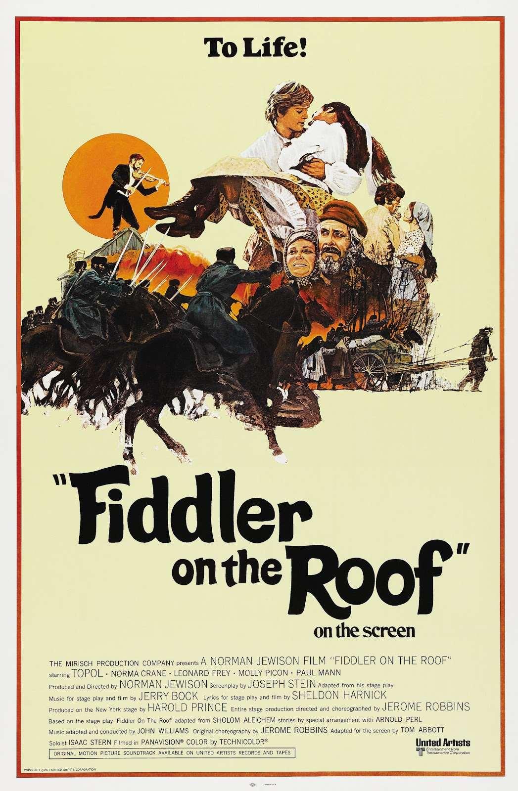 Fiddler On The Roof 1971 720p Bluray X264 Amiable Uncemy