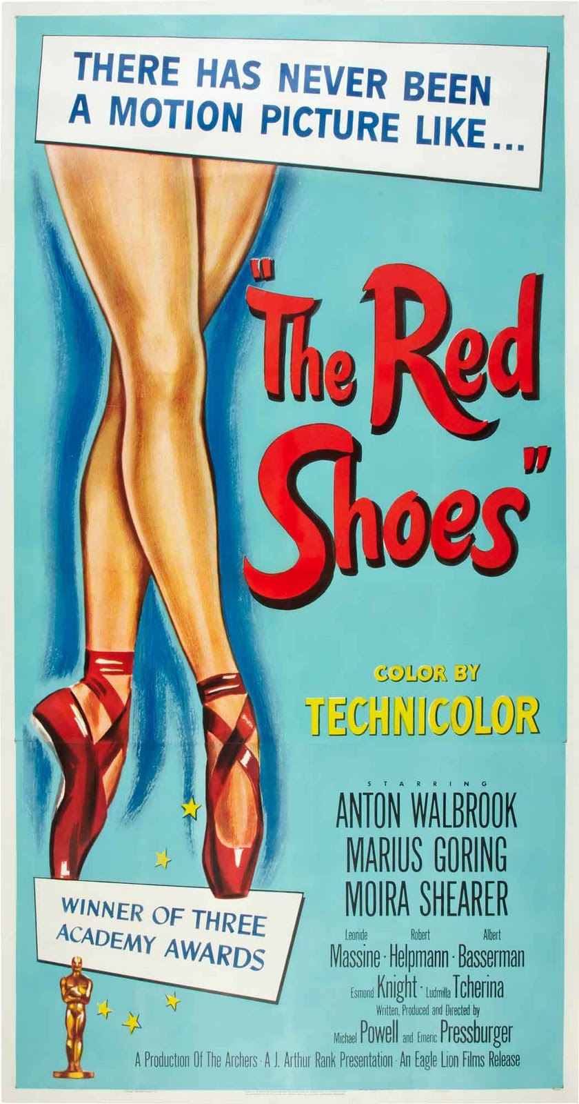 The Red Shoes Poster Original