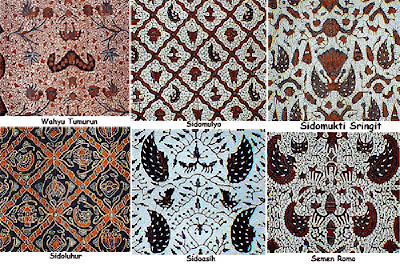 Batik Jogjakarta THE USE OF BATIK FOR BRIDE AND BRIDEGROOM IN THE